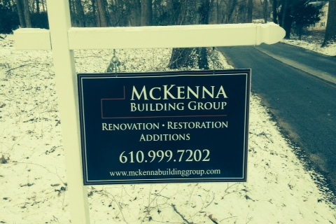 McKenna Building Group Sign