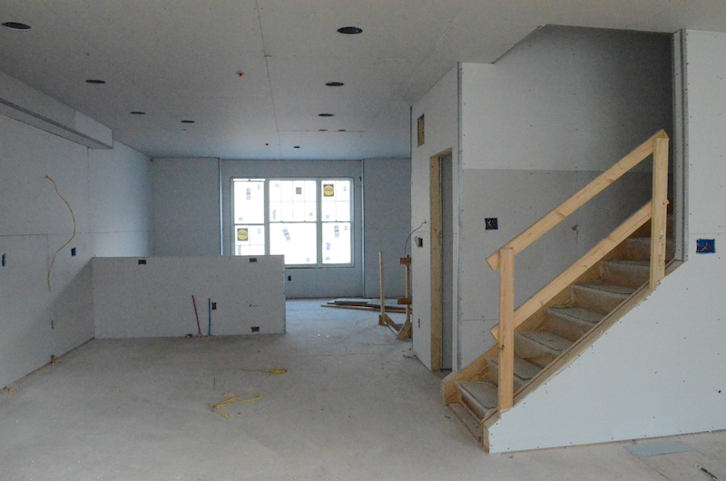 first floor drywall in Chesterbrook
