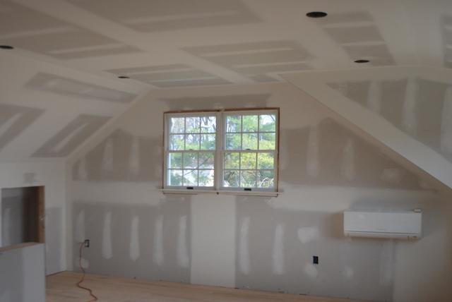 garage drywall smaller